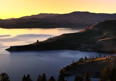 An Angler's Escape at Strawberry Reservoir