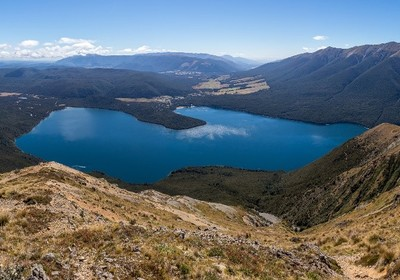 New Zealand's Blue Lake: The Clearest Water in the World