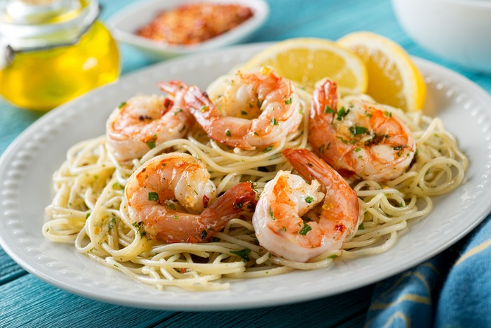 Savor Shrimp Scampi Day on Your Robalo