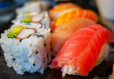 Colorful Catches for Sushi Fanatics
